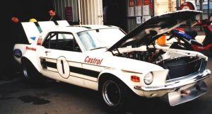 5 times ATCC Winning Ford Mustang