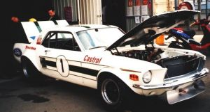 5 times ATCC Winning Ford Mustang